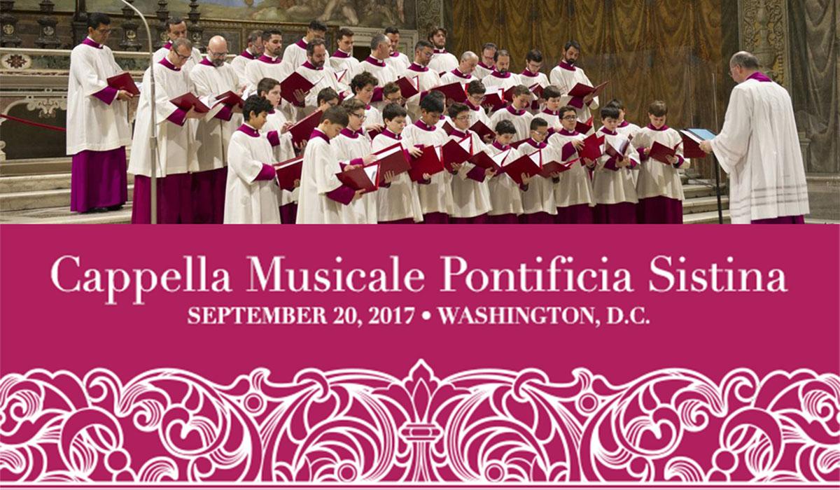 Sistine Chapel Choir Performance