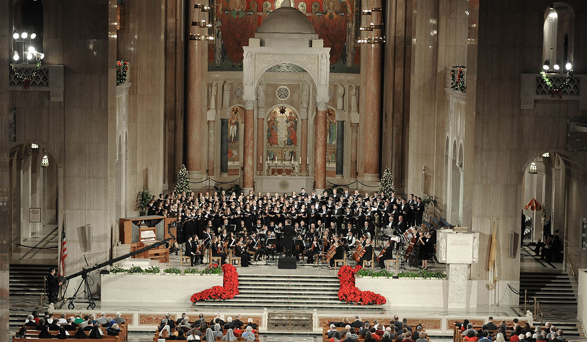 Christmas concert in Basilica