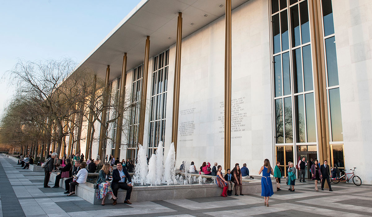 millennium stage at the kennedy center musical theatre division