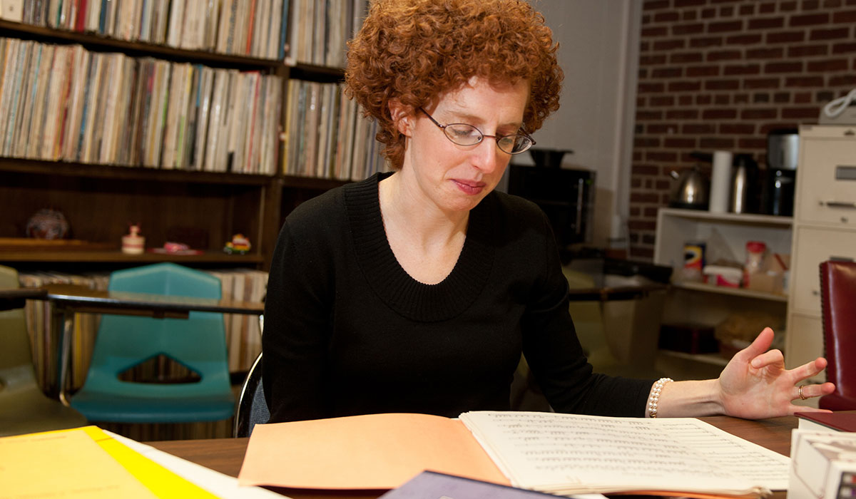 Professor researching at Latin American Music Center