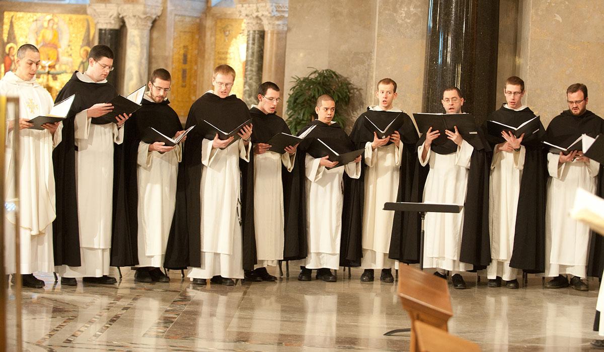 Singing during Mass