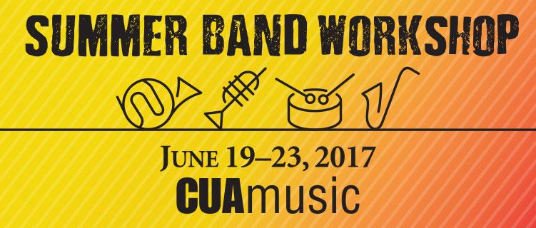 Summer Band Workshop ad